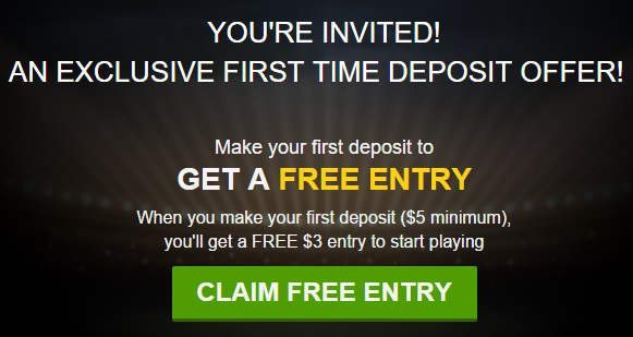 DraftKings Promo as Seen on TV