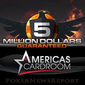 Americas Cardroom Millions Guaranteed